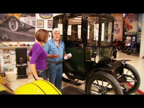 Jay Leno shows CNN around his famous car collection