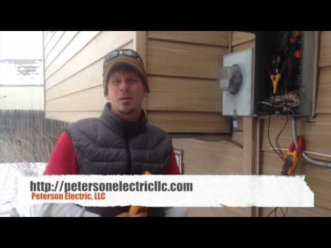 Electrical Panel Inspection With Meters