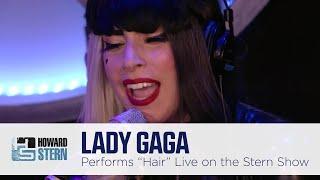 "Lady Gaga ""Hair"" Live on the Stern Show (2011)"