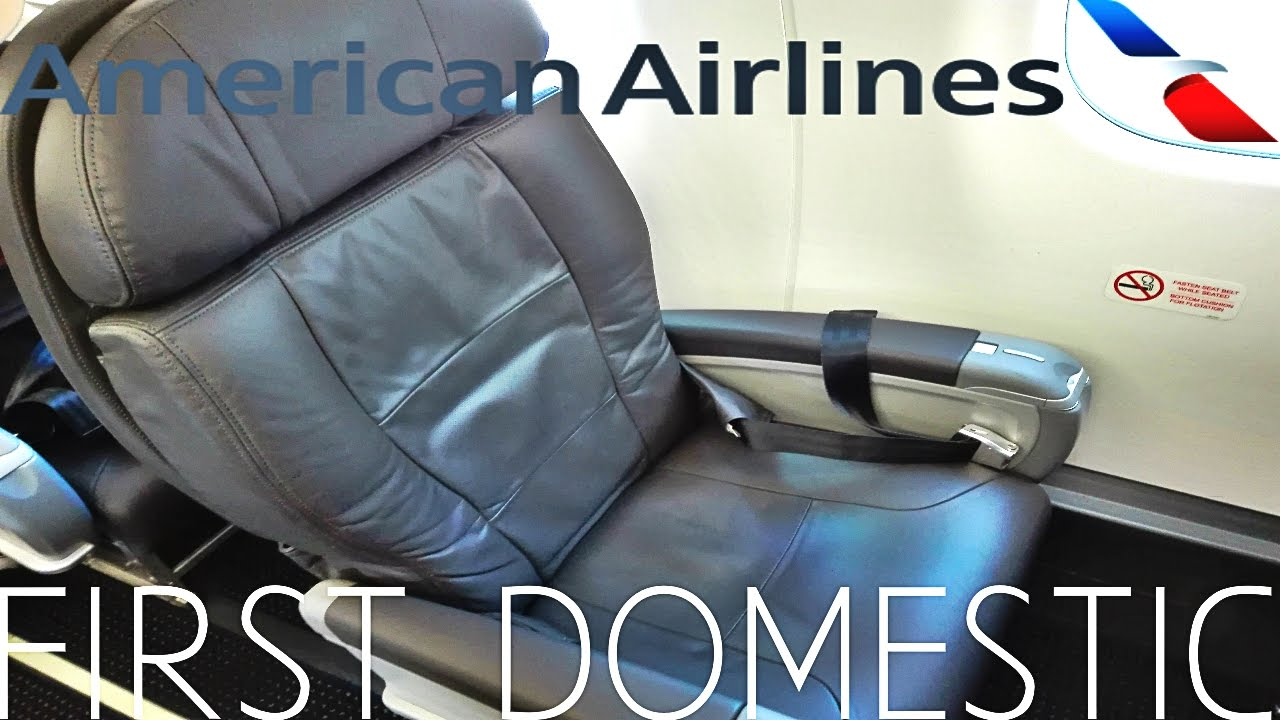 American Airlines FIRST CLASS Albuquerque to Los Angeles|Embraer 175 ...