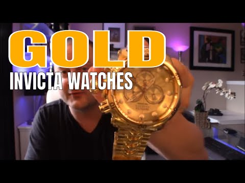 Invicta Watches Gold Plating Quality