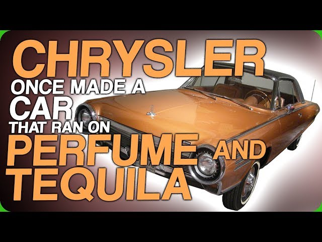 Chrysler Once Made a Car That Ran On Perfume and Tequila (The Future of Drinking Videos)