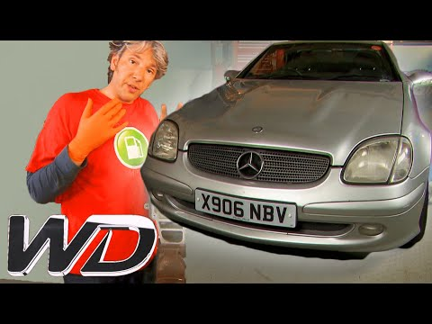 Mercedes SLK: How To Fix The Roof And Change The Supercharger | Wheeler Dealers