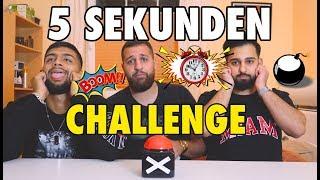 GEILSTE 5 SEKUNDEN CHALLENGE !! 😱⏰