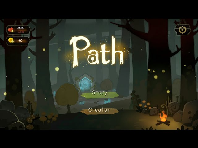 Path through forest new released android game