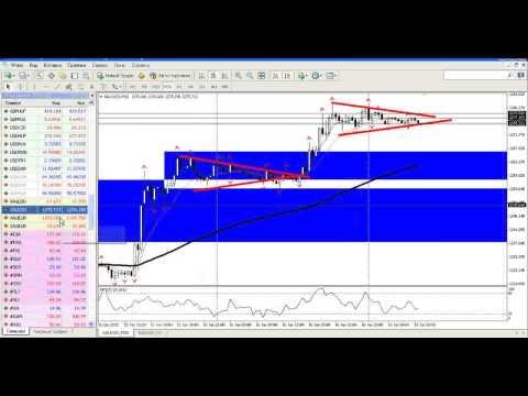 Внутридневной анализ рынка золота, серебра, а также валютной пары USDRUB от 19.01.2014