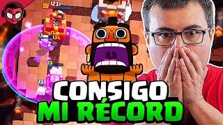 CONSIGO MI RECORD DE TROFEOS DE UNA MANERA INCREIBLE | Clash Royale