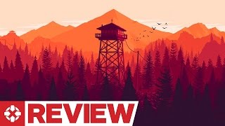 Firewatch Review (Video Game Video Review)