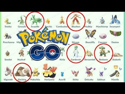 HUEVOS, REGIONALES Y ANÁLISIS DE POKÉMON DE 3 GENERACIÓN! ¿CUAL SUBIR? [Pokémon GO-davidpetit]
