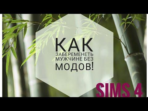 The Sims 4/Как забеременеть мужчине БЕЗ МОДОВ!!!!