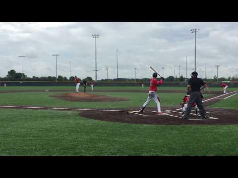 Justin Worley-  double - Elite Performance baseball 2017