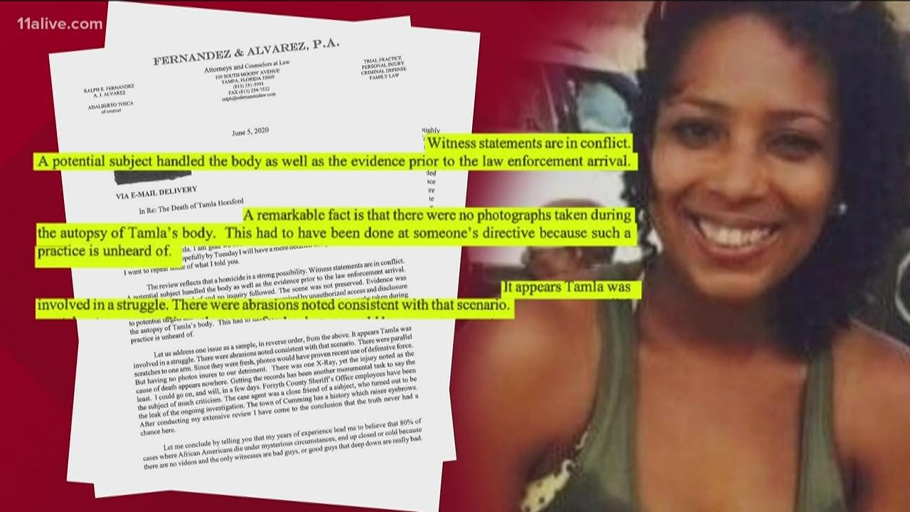 GBI Reopens the case of Tamla Horsford