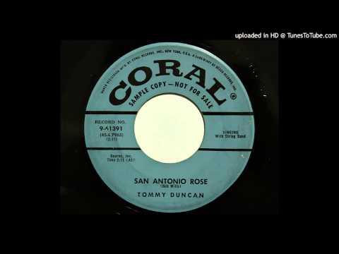 Tommy Duncan - San Antonio Rose (Coral 61391) [1955 western swing]