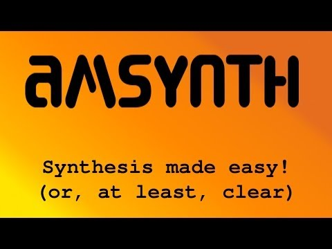AmSynth 2 - synthesis - how it works