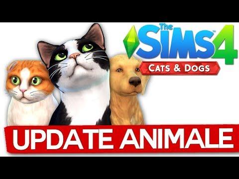 Update cu ANIMALUTE in SIMS 4!