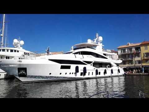 Saint Tropez mega yatch