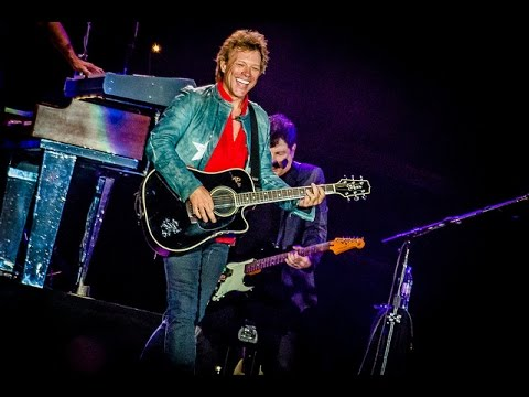 Bon Jovi no Palco Mundo do Rock in Rio 2017
