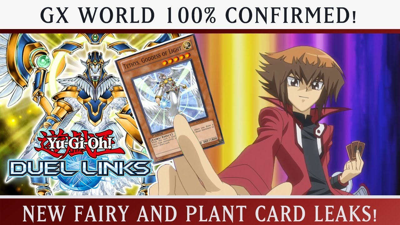 HUGE LEAKS! FAIRY AND PLANT SUPPORT! GX 100% CONFIRMED! Yu-Gi-Oh Duel Links  w/ItsBradazHD