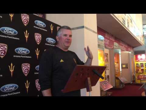 ASU Football: Todd Graham on Spring Practice No. 8 Scrimmage