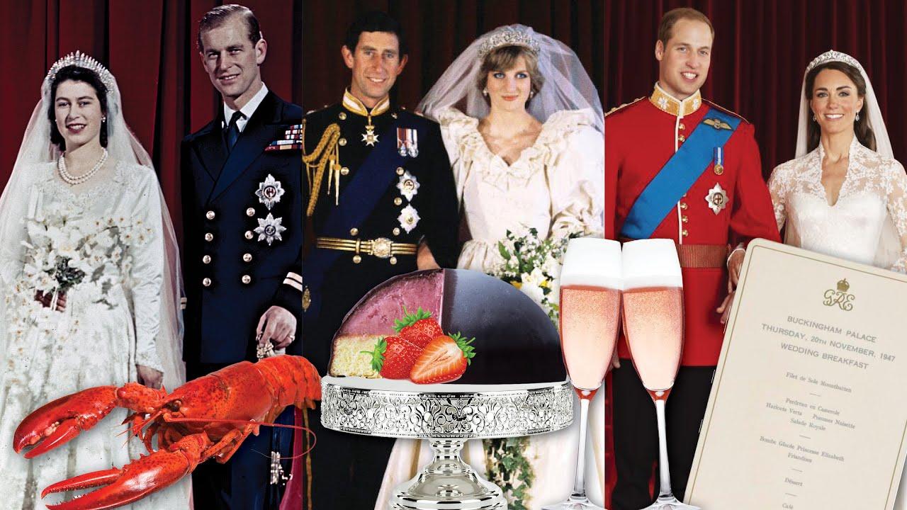 3 Royal Wedding Menus