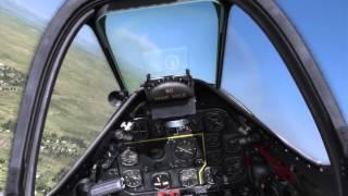 DCS P-51D Dogfight Gameplay
