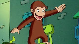 Curious George 🐵Windmill Monkey 🐵 Kids Cartoon 🐵 Kids Movies | Videos for Kids