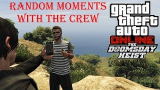 Grand Theft Auto 5  Funny & Random Moments With The Crew!