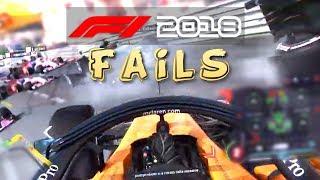 F1 2018 FAIL Compilation