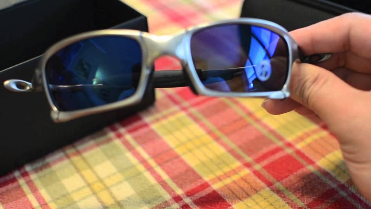 a696f6955b Oakley X Squared Unboxing Ice Iridium lens plasma frame - YouTube