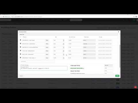 Fusion   Create Purchase Order