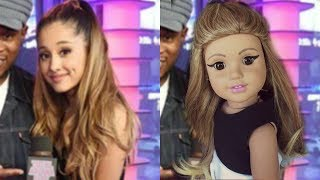 TURNING ARIANA GRANDE INTO A DOLL!