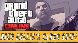 Grand Theft Auto 5 | Niko Bellic's Cargo Ship Easter Egg! (GTA 5)