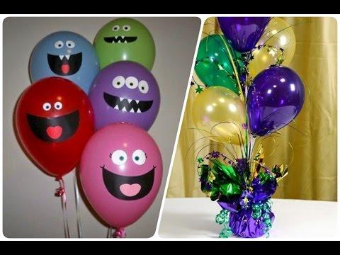 Ideas para decorar tu fiesta con globos para fiestas for Ideas para decorar banos infantiles