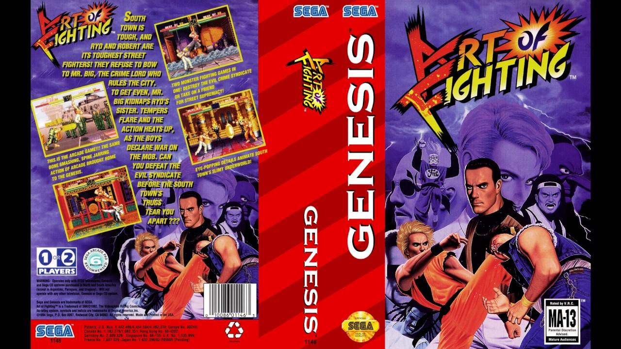 Sega Genesis Music Art Of Fighting Full Original Soundtrack Ost