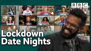Funniest failed attempts to 'date night' during lockdown | The Ranganation - BBC