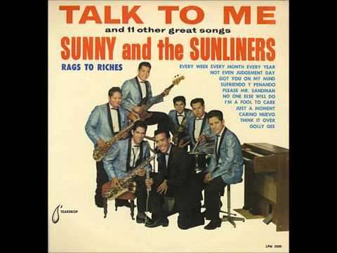 Sunny & The Sunliners - Golly Gee 1963