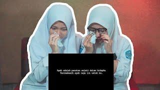 Download lagu INGET AYAH Karin & Taya sampe NANGIS  😭😭