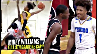 Mikey Williams Had A LEGENDARY Freshman Season! FULL SEASON RE-CAP! Is Mikey The BEST 9th Grader!?