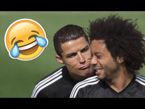 Cristiano Ronaldo Marcelo Best Funny Moments  E  B   Hd