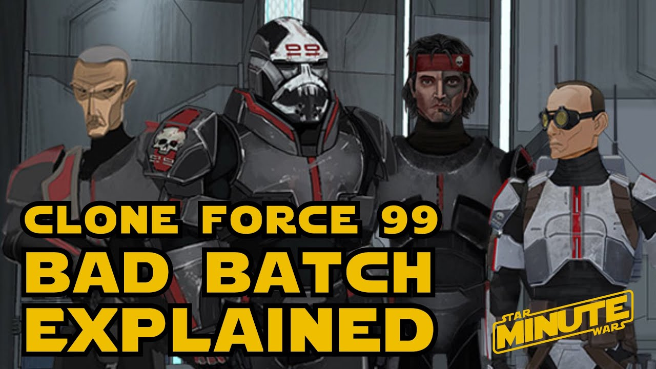Bad Batch Clone Force 99 History Canon