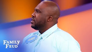 It's MAGIC! Make a man vanish simply by saying... | Family Feud
