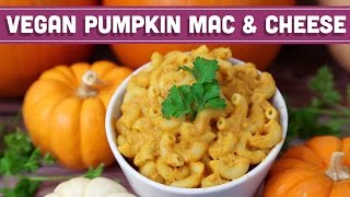 Low Fat Vegan Mac & Cheese: Fall Pumpkin Recipe! Mind Over Munch