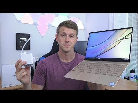 Huawei MateBook X Unboxing and First Impressions!