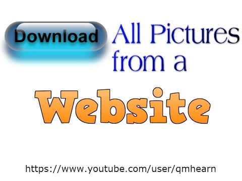 How to Download All Pictures from a Website