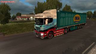 ETS2 Malcolm Logistics Brest (F) To Plymouth (GB)