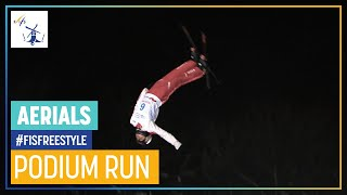 Noe Roth | Aerials | Moscow | 3rd place | FIS Freestyle Skiing