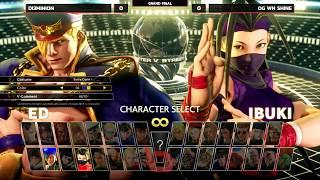 NLBC 111 - SFVAE - Grand Final - Di3mini0n (Ed) vs OG WN Shine (Ibuki) [1080p/60fps]