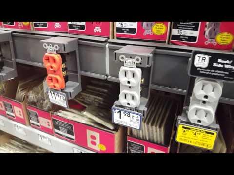 США. Электрич. выключатели, розетки, обзор и цены.