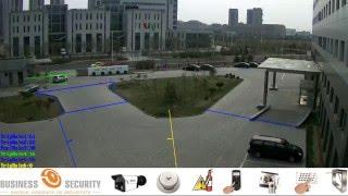 Funcția Separarea în 6 zone Tiandy Business Security Moldova