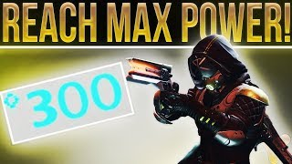 Destiny 2. Best Ways To Increase Your Power Level (300/350), Legendary Shards, Nightfall & More!